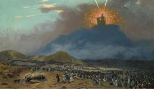 Mozes op de berg Sinaï (Jean-Léon Gérôme)